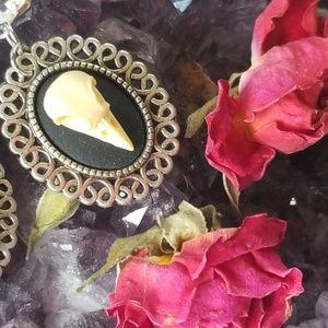 Jewelry - Bird Skull Earrings